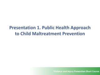 Prevention Principles: Addressing Risk and Protective Factors