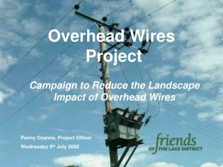 Overhead Wires   Project