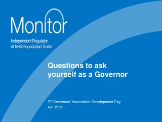 Questions to ask yourself as a Governor