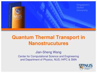 Quantum Thermal Transport in Nanostrucutures