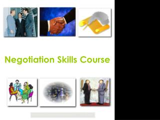 Negotiation Skills Course