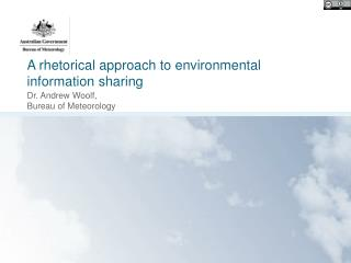 A rhetorical approach to environmental information sharing