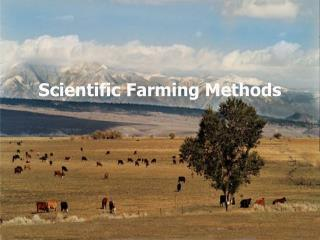 Scientific Farming Methods
