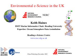 Environmental e-Science in the UK