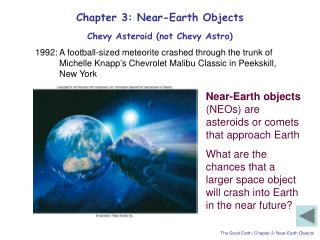 Chapter 3: Near-Earth Objects