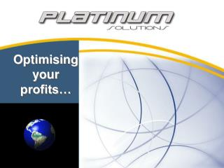 Optimising your profits…
