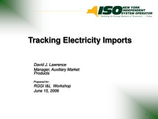 Tracking Electricity Imports