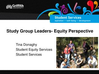 Study Group Leaders- Equity Perspective