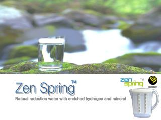 Natural reduction water with enriched hydrogen and mineral