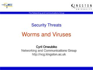 Security Threats Worms and Viruses