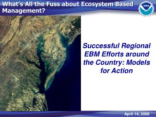 What's All the Fuss about Ecosystem Based Management?