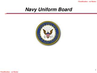 Navy Uniform Board