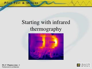 Starting with infrared thermography