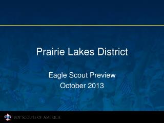 Prairie Lakes District