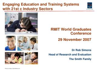 Engaging Education and Training Systems with 21st c Industry Sectors