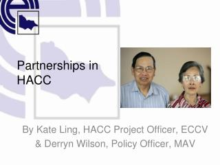 Partnerships in  HACC