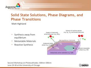 Solid State Solutions, Phase Diagrams, and Phase Transitions