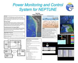 Power Monitoring and Control System for NEPTUNE Ting Chan Advisor: Chen-Ching Liu
