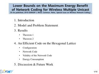 Lower Bounds on the Maximum Energy Benefit of Network Coding for Wireless Multiple  Unicast