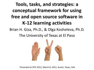 Brian H. Giza, Ph.D., & Olga  Kosheleva , Ph.D. The University of Texas at El Paso