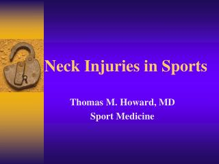Neck Injuries in Sports
