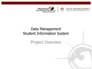 Data Management Student Information System