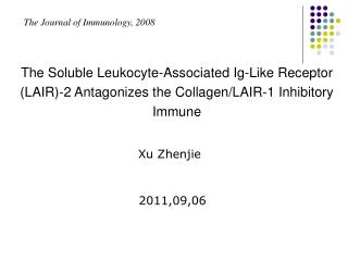 The Journal of Immunology, 2008