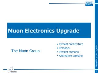 Muon Electronics Upgrade