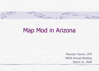Map Mod in Arizona