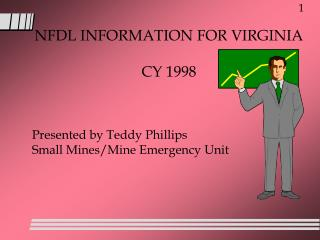 NFDL INFORMATION FOR VIRGINIA CY 1998