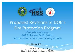 Proposed Revisions to DOE's Fire Protection Program