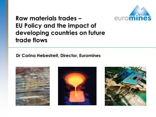 Raw materials trades –  EU Policy and the impact of developing countries on future trade flows