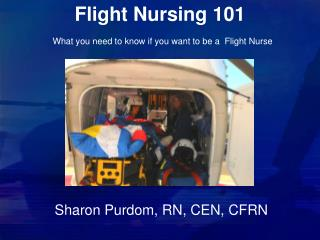 Flight Nursing 101 What you need to know if you want to be a  Flight Nurse