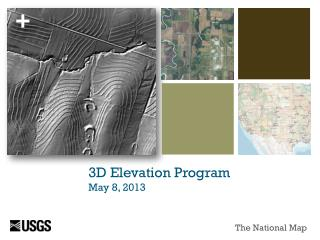 3D Elevation Program May 8, 2013