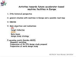 Activities towards future accelerator-based  neutrino facilities in Europe