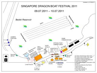 SINGAPORE DRAGON BOAT FESTIVAL 2011 09.07.2011 – 10.07.2011