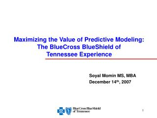Soyal Momin MS, MBA December 14 th , 2007