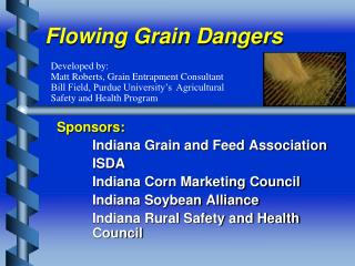 Flowing Grain Dangers