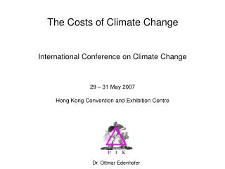 The Costs of Climate Change