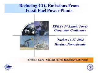 Reducing CO 2  Emissions From  Fossil Fuel Power Plants