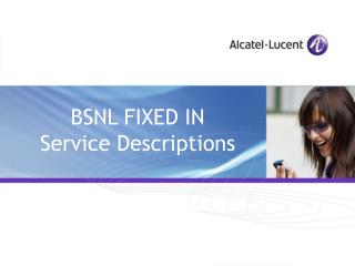 BSNL FIXED IN  Service Descriptions