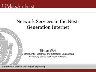 Network Services in the Next-Generation Internet