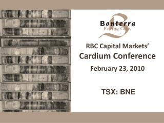 RBC Capital Markets' Cardium Conference February 23, 2010
