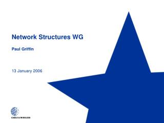 Network Structures WG