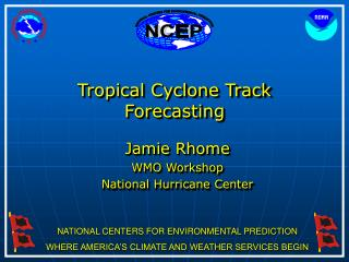 Tropical Cyclone Track Forecasting