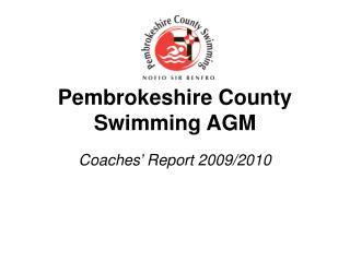 Pembrokeshire County Swimming AGM