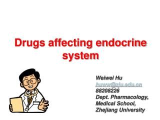 Drugs affecting endocrine system