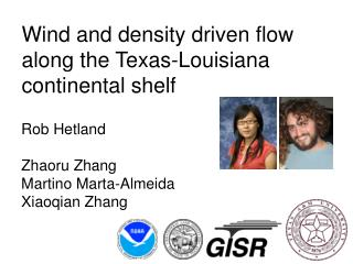 Wind and density driven flow along the Texas-Louisiana continental shelf