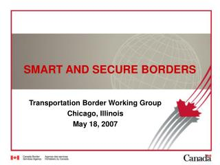 SMART AND SECURE BORDERS