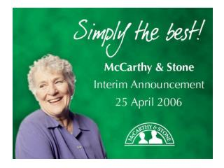 McCarthy & Stone the Natural Choice for a Happy Retirement
